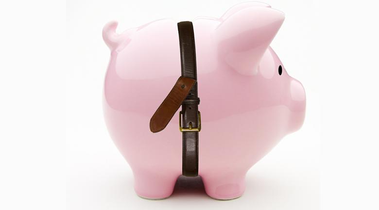 piggy bank belt